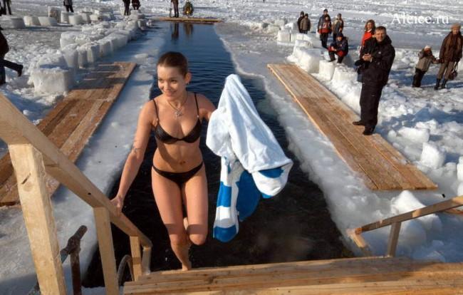 10 правил и ошибок купания в проруби