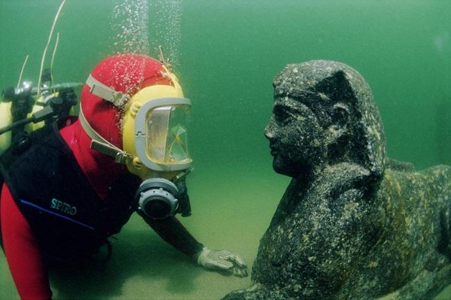 Гераклион - древний город, скрытый под водой