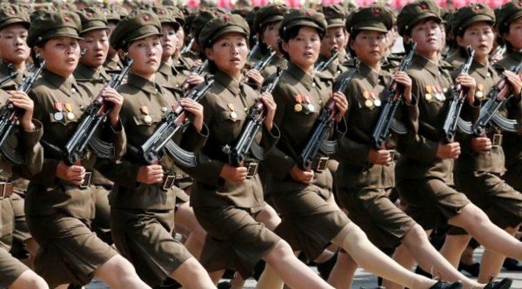 Повседневная жизнь солдат армии Северной Кореи