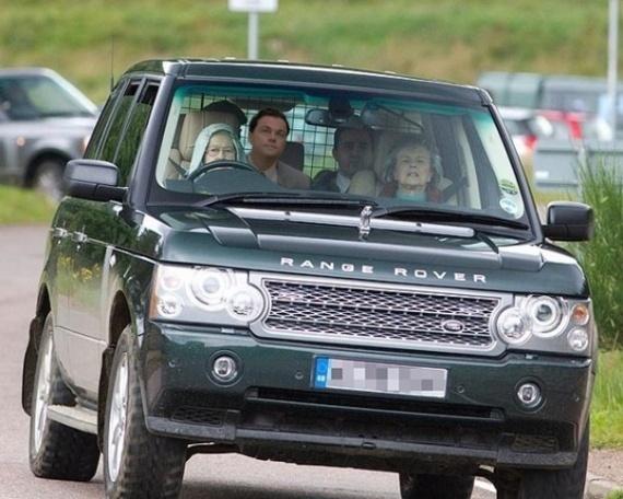 Неизвестные автомобили известных политиков