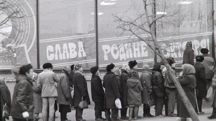 Типичные фото времен СССР: 50 колоритных снимков