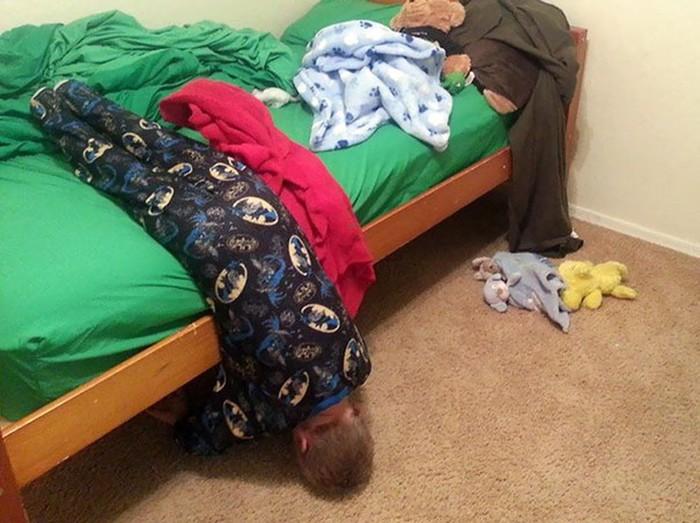 Дети и сон: 50 уморительных фотографий